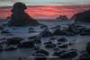 Ghost Within Us (Bob Bowman Photography) Tags: ocean longexposure sunset sea wild bw seascape color beach nikon rocks le ghostly whacky latelight landscapephotography 3stop seascapephotography