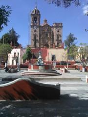 (sftrajan) Tags: cameraphone church mxico mexico mine unescoworldheritagesite chiesa guanajuato baroque fachada 18thcentury templo 2015 barrocco patrimoniomundial lavalenciana baroquefacade baroquechurch