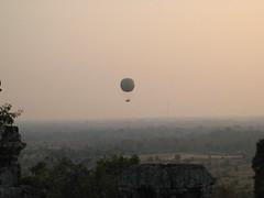 Hot Air Balloon Over Angkor Wat