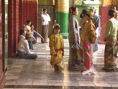 Children Dressed Up for Ceremony