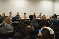 "WICS Week 2 ICS Career Panel 1/12/15 • <a style=""font-size:0.8em;"" href=""http://www.flickr.com/photos/88229021@N04/16627997352/"" target=""_blank"">View on Flickr</a>"