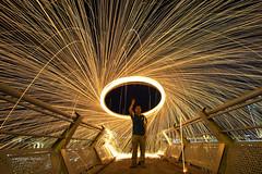 Rains of Fire (Art-slice) Tags: fire slowshutter fujifilm 12mm longshutter hisham steelwool samyang xt1 shamcool