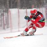 Sam Mulligan 2nd at U18 Canadian Championships Super-G PHOTO CREDIT: Derek Trussler