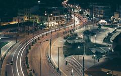 "The Big ""S"" (GeorgeVog) Tags: road city light colour cars night canon eos town is long exposure cityscape nightshot tripod trails athens greece adobe software nik usm manfrotto attica lightroom 6d ballhead 24105 peristeri f4l 055xpro3 498rc2"