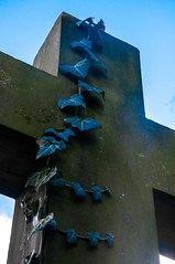 for Ivy (Tony Shertila) Tags: england cemetery grave death memorial europe britain birkenhead gravestone wirral merseyside flaybrick