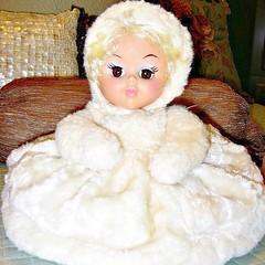 1950's Zippered Pajama Bag Doll