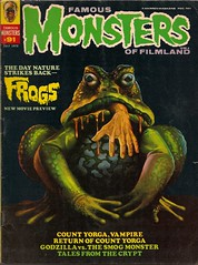 Famous Monsters No. 91 (Warren July 1972) (Donald Deveau) Tags: magazine frog frogs warren horrormovie forrestjackerman famousmonsters