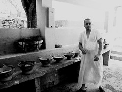 """""""Moroccan Portraits"""" by Elena Savonicheva, 2015 (elenasavonicheva) Tags: africa travel blackandwhite food man cooking photography photo eating cook eat morocco chef maroc moroccan africans tagine travelphotography travelphoto travelpics moroccans"""