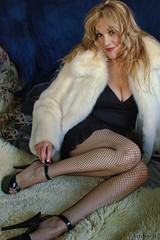 Unstrapping (All About Light!) Tags: fashion mature boudoir seductive glamor beautifulblonde