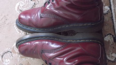 DSCF9624 (rugby#9) Tags: original feet yellow cherry boot shoe hole boots lace dr air 14 7 indoor icon wear size footwear stitching comfort sole doc 1914 cushion soles dm docs eyelets drmartens bouncing airwair docmartens martens dms cushioned wair doctormarten 14hole yellowstitching