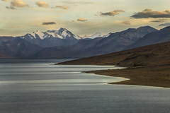 beautiful tso moriri (dr_zook81) Tags: sunset sun mountain lake snow seascape mountains cold ice beach water beautiful clouds canon landscape island waves peace outdoor calm serene ripples kashmir tso distance leh range 70200 ladakh saand mororo