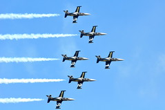 Breitling Jet Team flyby (Great Salt Lake Images) Tags: utah flyby hillairforcebase thebreitlingjetteam warriorsoverthewasatch utahairshow