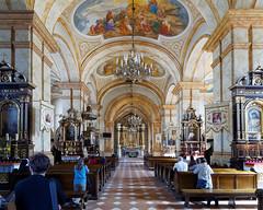 Sacred Presence (Rev.Gregory) Tags: church nave altar aisle prayer wadowice poland basilica presentation jp2 john paul pope saint
