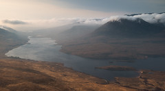 Loch Lurgainn (Uldis K) Tags: loch lurgainn stacpollaidh assynt highland scotland wilderness beinnaneoin benmorcoigach mountains landscape sunrise