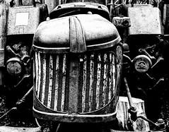 Snarl (Reinardina) Tags: blackandwhite tractor netherlands monochrome vintage snarl