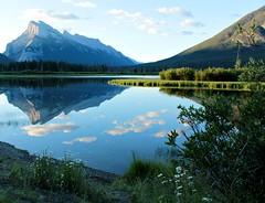 O Canada (beesquare) Tags: mountrundle vermilionlakes banff alberta canada