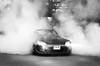 Fooling around in S2000 (domantasm.) Tags: blackandwhite bw car honda smoke tires burnout tyres s2000 sportscar roadster fumes