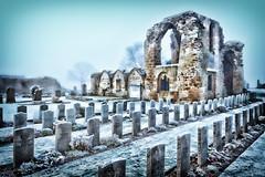 Winter Scene - Kinloss Abbey (euan_pics) Tags: winter scene kinloss abbey