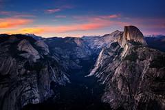 Have camera will travel (Anna Gorin) Tags: yosemite yosemitenationalpark california nationalpark halfdome glacierview sunset summer travel landscape canon 5diii tamron 28300mm sky clouds