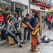 STREET ENTERTAINERS IN ACTION AFTER DARK [GALWAY CITY CENTRE]-1192173