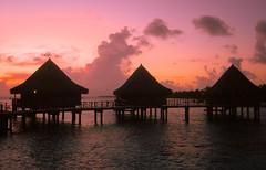 "Sunset of ""Hotel Kia Ora"",Tahiti Rangiroa (sapphire_rouge) Tags: atoll polynesia  rangiroa atool resort  sunset snorkeling  brother lagoon polynsiefranaise  france   tahiti franchpolynesia island kiaora ngc"