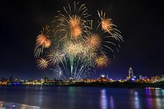 _4(DSC_0877) (nans0410(busy)) Tags: taiwan newtaipeicity sanchong fireworks danshuiriver dadaocheng valentinesday