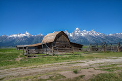 T.A. Moulton Barn (Frank McNamara) Tags: mountains barn rural landscape rustic wyoming grandtetons moulton