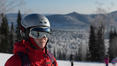 Alien's winter holidays in Sheregesh (Oleg Doudelzak) Tags: slta77v dt1650mm skiing f28 ssm   sony sheregesh kemerovskayaoblast russia ru