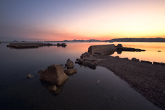 French Riviera Sunset (fredMin) Tags: sunset sea nature long exposure mediterranean fuji juan ngc cap fujifilm 12mm antibes samyang xt1