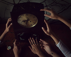 """""""The veneration of time"""" (Adi Korndrfer) Tags: conceptual fineart selfportrait 366project"""