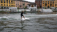 DSC08195 (eliazar.dominantez) Tags: canal italia italy lombardia lombardy milan milano navigli sports street water