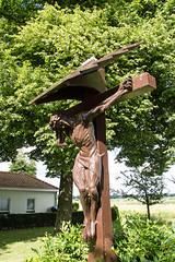 Christ and green (Wookiee!) Tags: jesus christ crucified crucifix religion god color colours den bosch duketown denbosch noordbrabant brabant netherlands nederland europe europa life wwwgevoeligeplatennl