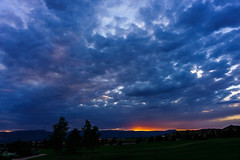 Clouds and Sunset (SahilH) Tags: sonyalphadslr sony sonydslr slta99 a99 variosonnart282470 cloudsstormssunsetssunrises clouds sunset landscape sky colorado
