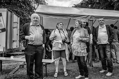 Local party in the Ardennes.. (John Bastoen) Tags: straatfotografie street streetphotography party bw locals