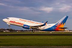 G-GDFK - Boeing 737-36N(WL) - Jet2 (Bjoern Schmitt) Tags: ggdfk jet2 boeing 73736nwl cn 285723031 eham amsterdam ams rotation airplane