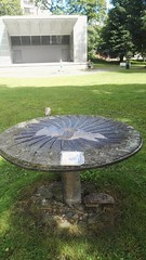 Bookcrossing release (zimort) Tags: bok book bookcrossing wildrelease gjvik gjvikgrd park bord table