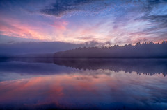 Colors-of-Sunrise (desouto) Tags: nature hdr pond lake water plants trees