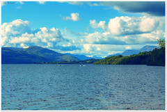 Loch Lomond (Billy McDonald) Tags: hdr scotland lochlomond clouds mountains hills