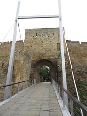 Drawbridge into Castle (NH53) Tags: lincoln castle drawbridge