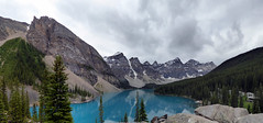 Moraine Lake - Valley of the Ten Peaks (Kwong Yee Cheng) Tags: alberta banffnp canada hugin morainelake valleyofthetenpeaks