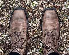 New Boots.    I Like 'em. (Oliver Leveritt) Tags: boots laceup ariat nikond90 afnikkor50mmf18d sb600 oliverleverittphotography flash su800 offcameraflash nikoncls cls creativelightingsystem garyfonglightspherecloud speedlight
