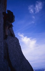 Early Morning, Lower Face (andywalker1) Tags: andrewwalker americandirect dru petitdru chamonix alps alpineclimbing
