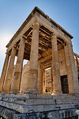 Acropolis Archaic (AgarwalArun) Tags: sonya7m2 sonyilce7m2 sony athens greece landscape scenic nature views acropolis hill architecture pillars acropolisarchaic archaic