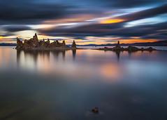 Early in the Morning at Mono Lake (Eunice Eunjin Oh) Tags: monolake morning sunrise inyocounty easternsierra bisop longexposure leefilter cloud dawn fallseason water