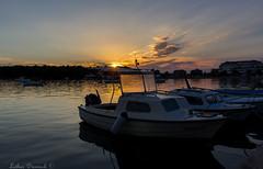 Medullin (Lothar Drewniok) Tags: sunset hafen lichtundschatten lothardrewniok istrien kroatien croatia medullin