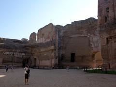 Inside the Baths of Caracalla (markhorrell) Tags: rome romanantiquities baths caracalla