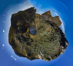 Planet Cradle (Steven Penton) Tags: tinyplanet cradle mountain tasmania australia