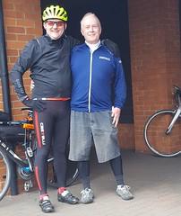 LP03 With Jason Green in Godalming (alex.2607) Tags: london paris cycle cycling alex brown michael stevenson
