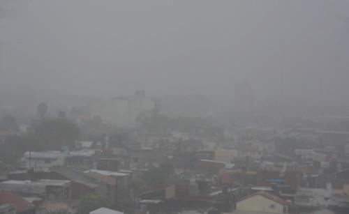 Niebla en la ciudad