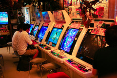 Arcade in Super Potato (badcrc) Tags: japan eos eos350d